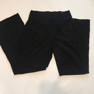 Gap Maternity 6r Perfect Trouser Black Pants